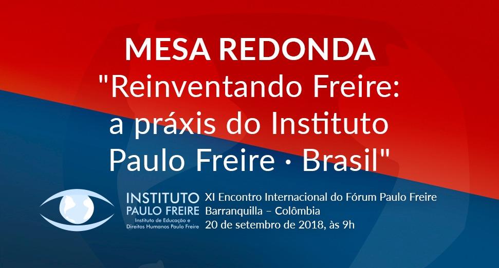 IPF participa do Fórum Paulo Freire, na Colômbia