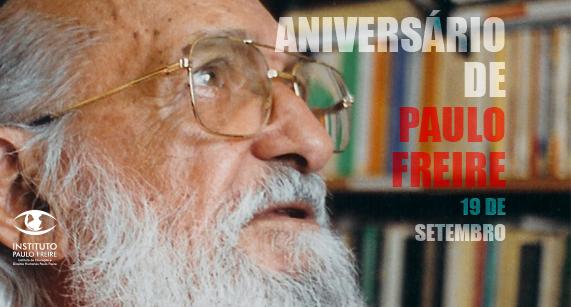 Em 19 de setembro de 2018, Paulo Freire completaria 97 anos