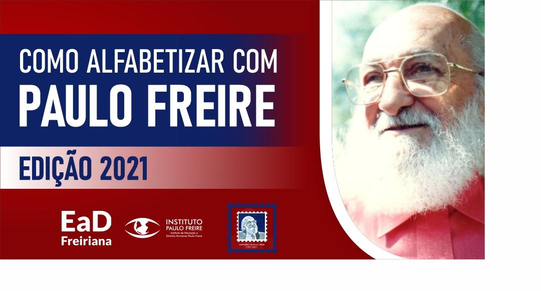 Quer alfabetizar com o 'Método Paulo Freire'?