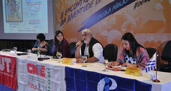 IPF comemora Dia Internacional da Juventude em encontro organizado pela CNTE