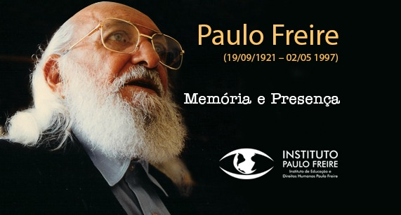 2 de maio: 23 anos da Memória e Presença de Paulo Freire