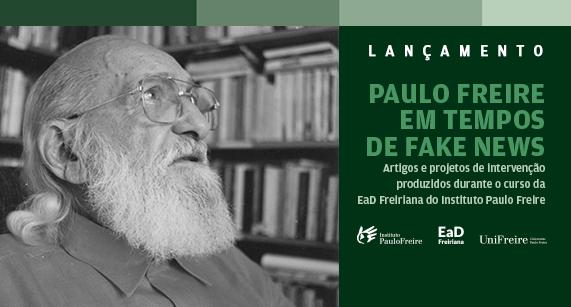 E-book do curso 'Paulo Freire em tempos de fake news' já está no ar!