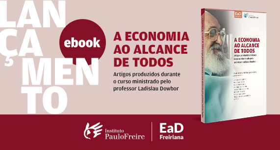 Lançado mais um e-book pelo Instituto Paulo Freire