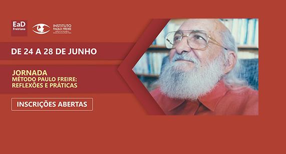 Método Paulo Freire é tema da próxima Jornada do Instituto Paulo Freire