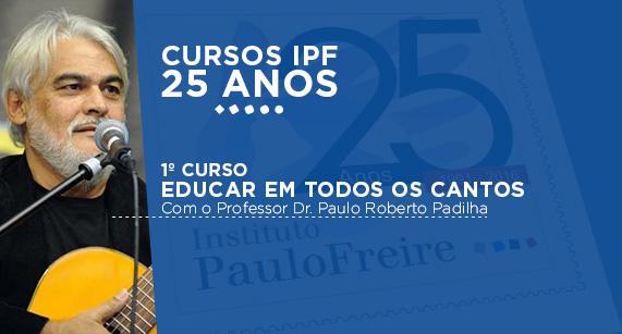 Cursos IPF 25 anos