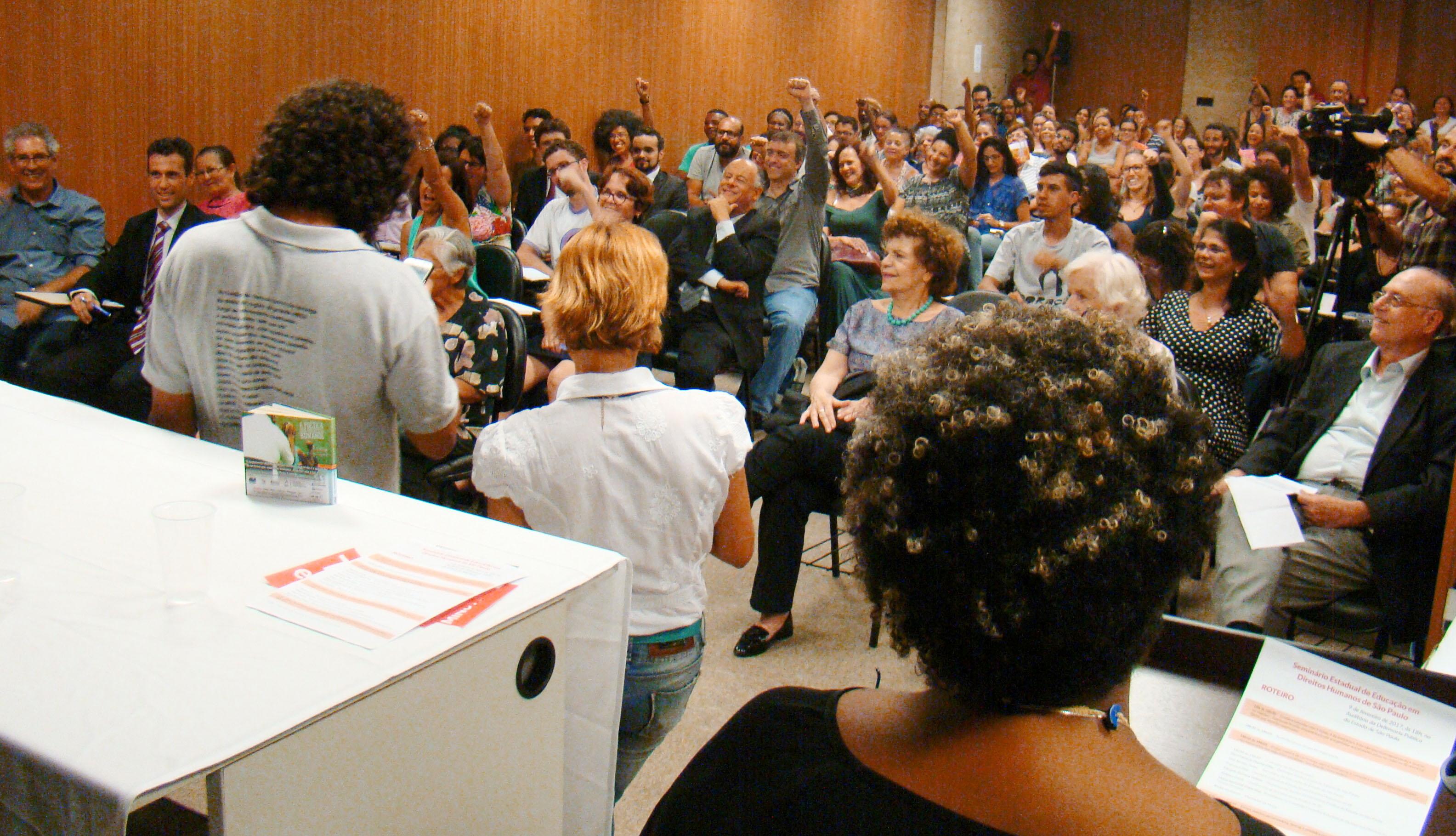 São Paulo dá início à construção do Plano Estadual de Educação em Direitos Humanos