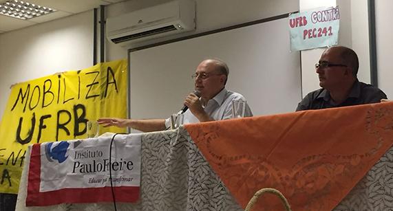 Presidente do IPF realiza conferência em Cruz das Almas (BA)