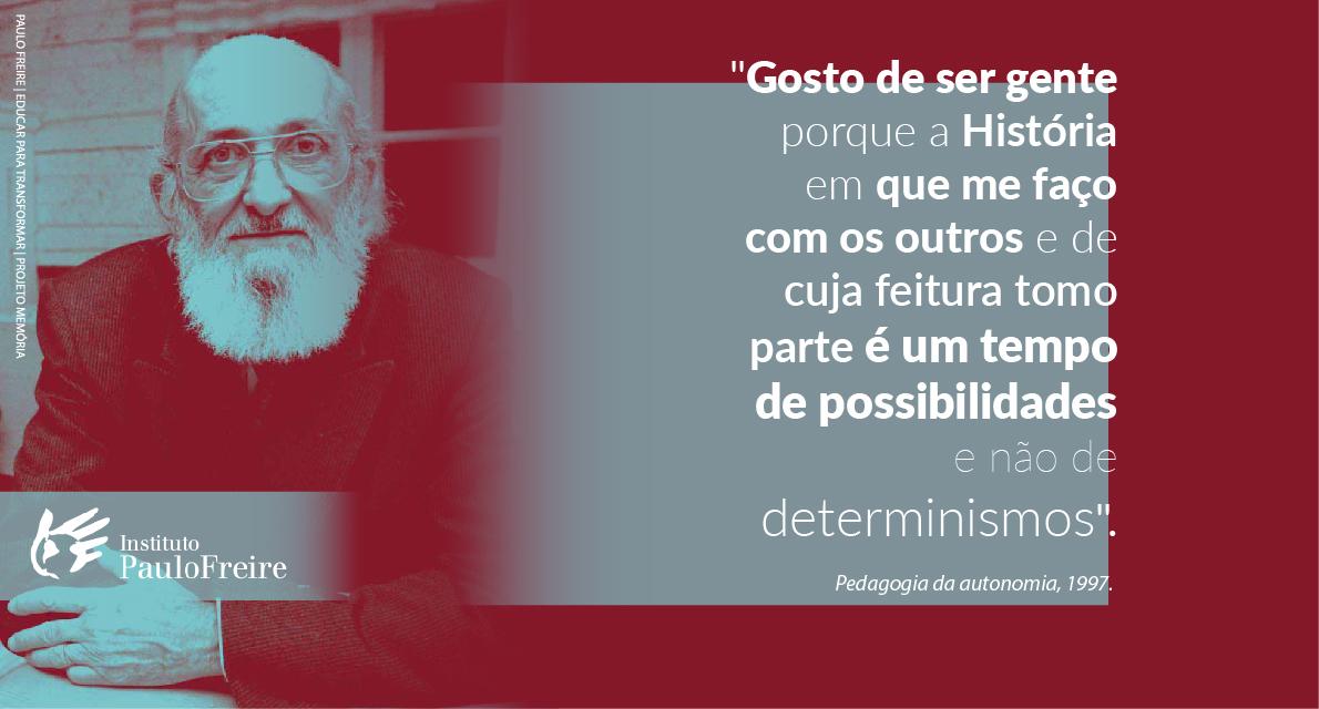 Mês de aniversário de Paulo Freire