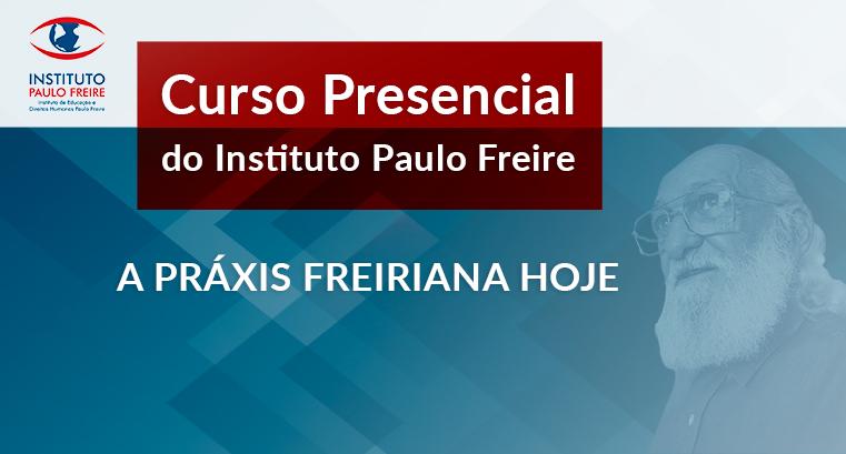 Mais um curso do Instituto Paulo Freire