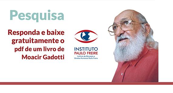 Pesquisa Instituto Paulo Freire