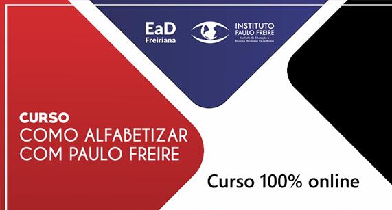 'Como alfabetizar com Paulo Freire'