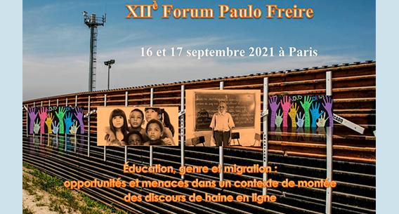 Inscrições abertas para o Fórum Paulo Freire