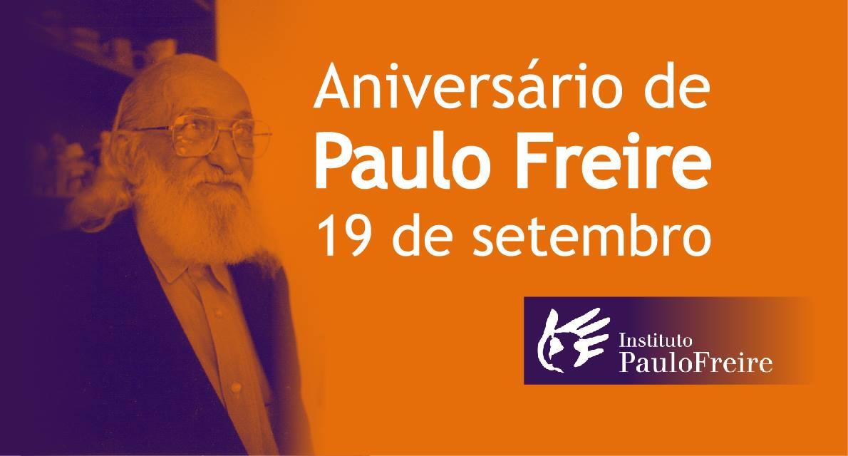 Aniversário de Paulo Freire