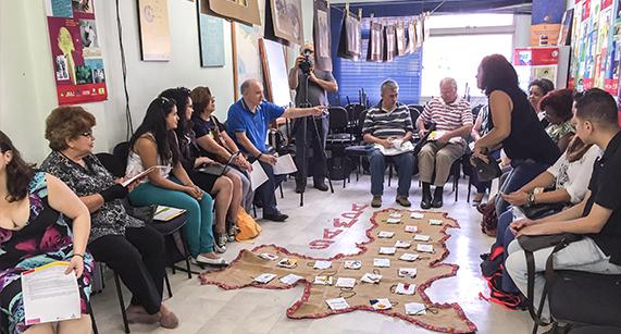 Apresentação de projetos encerra curso em direitos humanos da SMDHC