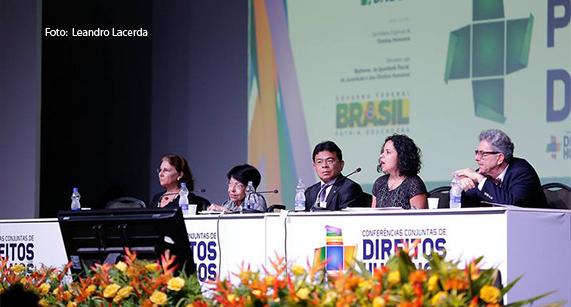 Conferências discutem Direitos Humanos, em Brasília