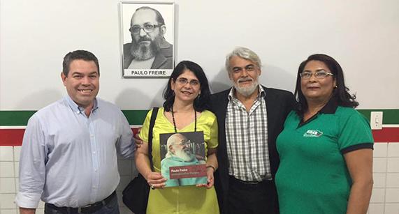 Paulo Freire dá nome à escola no Mato Grosso