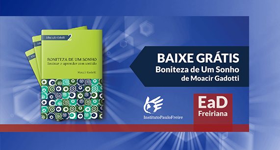 Editora do Instituto Paulo Freire disponibiliza gratuitamente e-book
