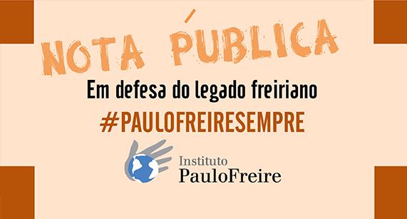 Instituto Paulo Freire divulga nota pública sobre alteração da biografia de Paulo Freire